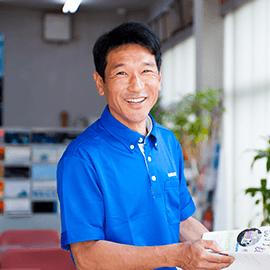 代表取締役社長・営業 平岡 康成(ヒラオカヤスナリ)