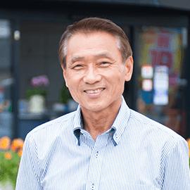 代表取締役 平岡芳郎(ヒラオカヨシロウ)